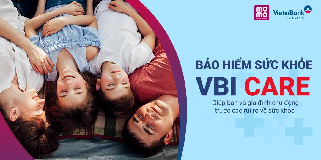 Bảo hiểm sức khỏe cá nhân Vietinbank VBI Care