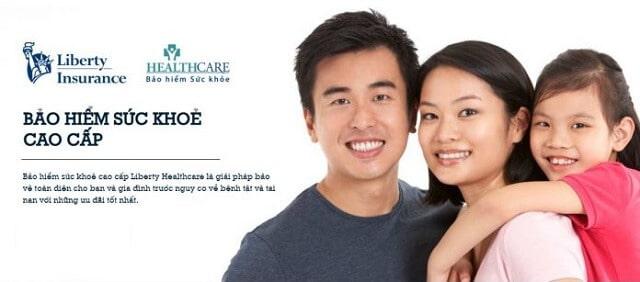 Mua bảo hiểm sức khỏe cho cả gia đình Liberty Healthcare