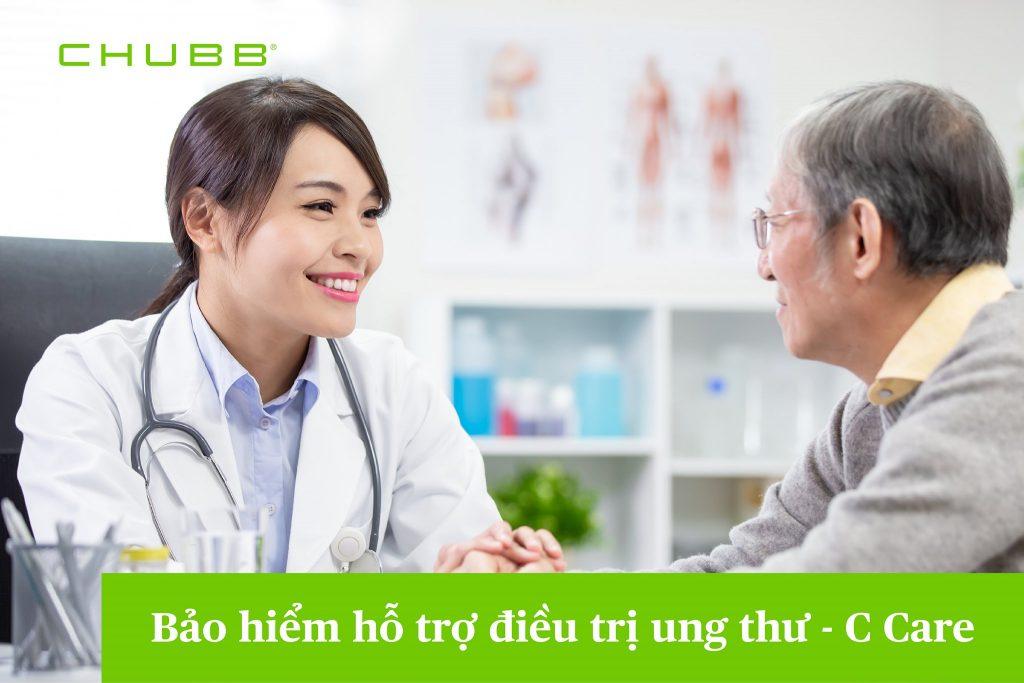 Bảo hiểm sức khỏe Chubb Life- Gói hỗ trợ ung thư C Care