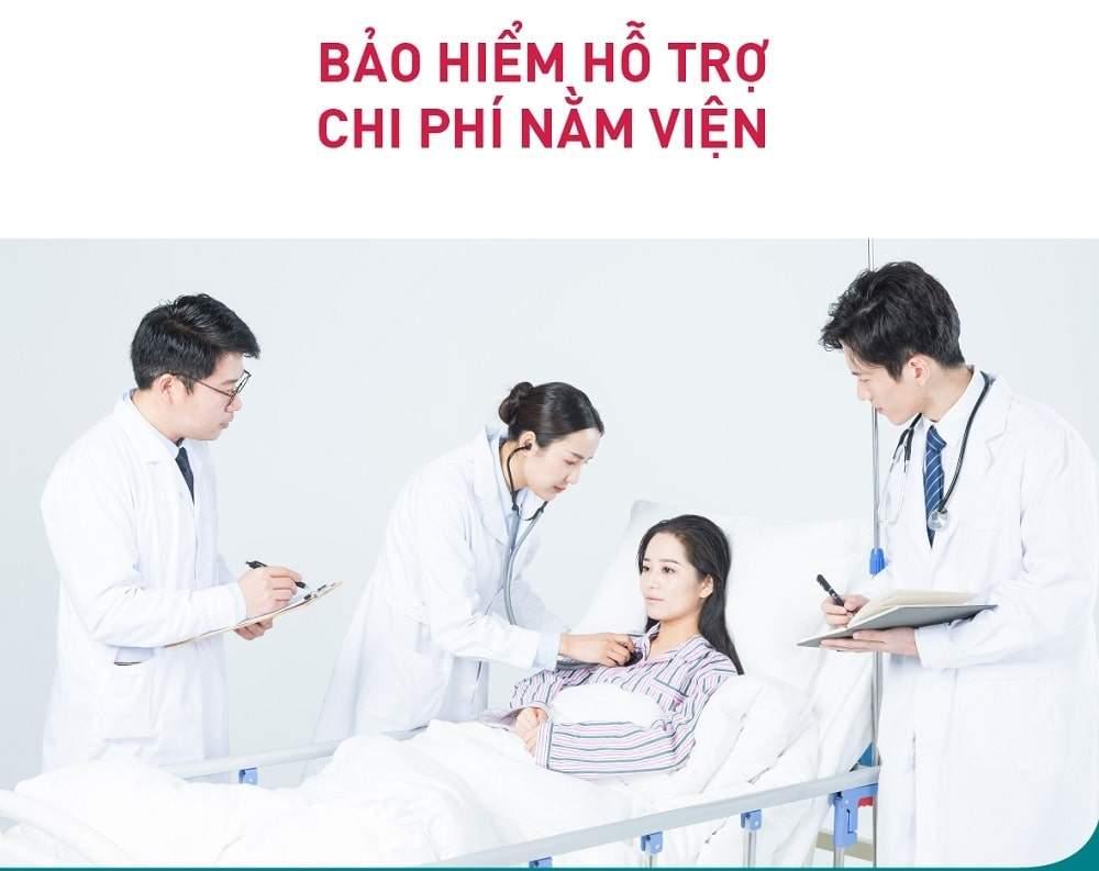 Bảo hiểm sức khỏe Daiichi Life - Gói bảo hiểm hỗ trợ chi phí nằm viện