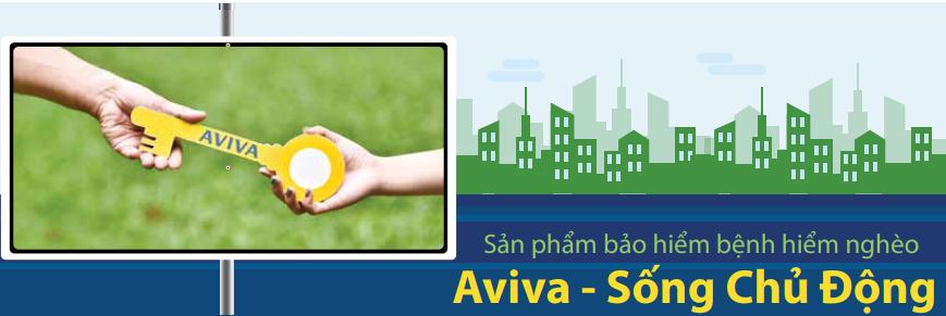 Bảo hiểm sức khỏe Aviva - Sống Chủ Động